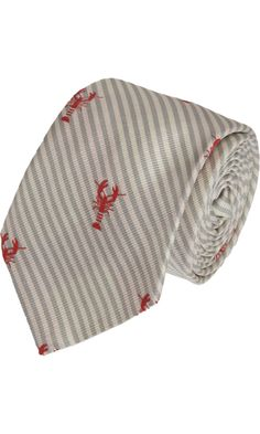 Thom Browne Striped Lobster Tie