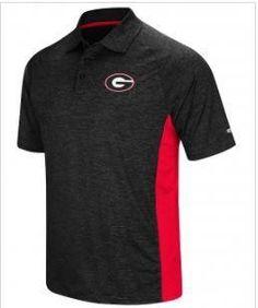 7435585f5 NCAA Georgia Bulldogs Wedge Men s Performance Polo Shirt