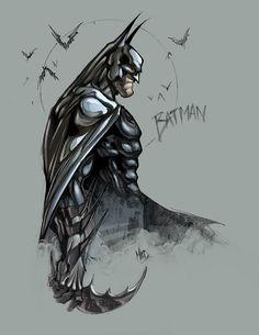 """Metal Bats"" by Joe Madureira; inked by Fabian Schlaga"