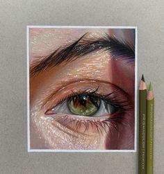 Art Drawings Sketches Simple, Pencil Art Drawings, Realistic Drawings, Colorful Drawings, Cool Drawings, Drawing Art, Colored Pencil Artwork, Color Pencil Art, Kreative Portraits