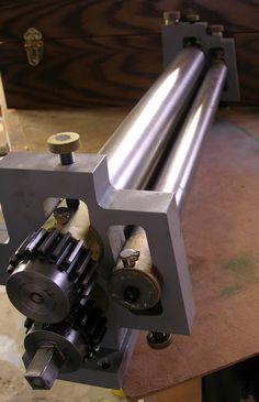 Building a slip roll machine