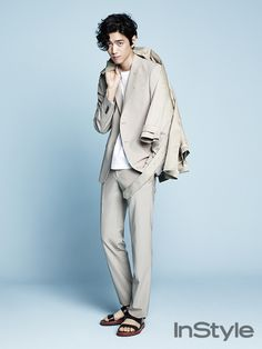 Sung Joon - InStyle Magazine May Issue '14