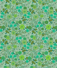 Floral2 Art Print by Selkie Song