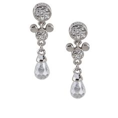 Mickey Mouse Earrings by Arribas | Jewelry | Disney Store