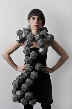Math inspired dress. Amila-Hrustic.