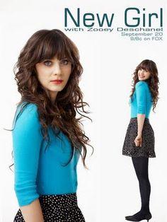 New Girl star Zooey Deschanel - #hosiery  #newgirl