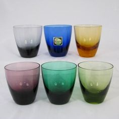 Kristalunie Maastricht, carnaval glasses, late 50's