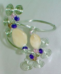 """""""Cleopatra Arm Bands""""  Metalwork/Wire-Wrapping    These were so time consuming, but so fun to make and super cute on!"""