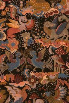 Peacock Wallpaper, Chinoiserie Wallpaper, Unique Wallpaper, Wall Wallpaper, Asian Wallpaper, Colorful Clouds, Tropical, Free Prints, Decoration