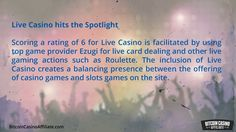 http://BitcoinCasinoAffiliate.com - Find out why the site has managed to score 5 for its selection of top quality games for its players. Another interesting fact is that the site scores a rating of 6 for its efforts in making an outreach attempt to a wider audience and of course more visitors to the site. Visit the site now.  Your one stop for Bitcoin Casino Visit - http://BitcoinCasinoAffiliate.com