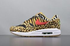 best authentic 92963 feb27 Mens Nike Air Max 87 Movement Fitness Animal Pack Black red white  AQ0928-700 Nike