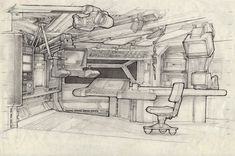 Are you looking to brighten up a dull room and searching for interior design tips? One great way to help you liven up a room is by painting and giving it a whole new look. Sci Fi Environment, Environment Design, Aliens, Cityscape Drawing, Syd Mead, Spaceship Interior, Spaceship Concept, Alien Art, Environmental Art