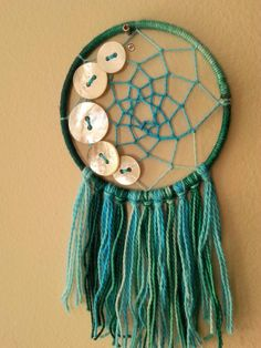 Sea Moon Dream Catcher by HomeAgainCT on Etsy