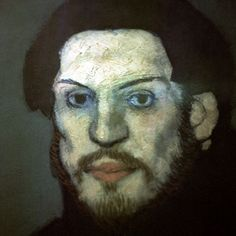 Pablo Picasso, self-portrait as a young man, Picasso Museum, Paris