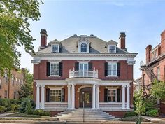 1874 Second Empire For Sale In Southport Connecticut — Captivating Houses Covington Georgia, Stone Mansion, Cozy Family Rooms, Richmond Virginia, Virginia Usa, Second Empire, Mansions For Sale, Grand Staircase, Good House