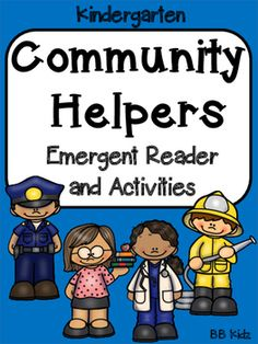 This unit has posters of community helpers, both colored and black and white.  It has an emergent reader, color by number activities and writing pages. By BB Kidz