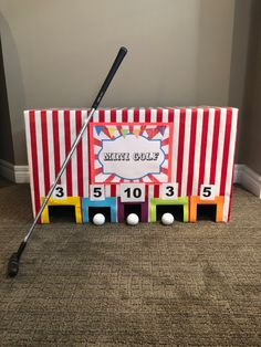 Carnival Party Games, Carnival Activities, Homemade Carnival Games, Carnival Games For Kids, Carnival Birthday Parties, Carnival Themes, Circus Birthday, Circus Party, Golf Party Games