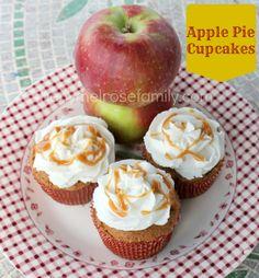 Apple Pie Spice Cupcakes