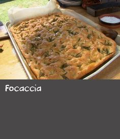 Source by deannaaaroee Focaccia Focaccia Chicken Recipe With Wine, Best Chicken Recipes, Rice Recipes, Healthy Recipes, Italian Bread Recipes, How To Make Bread, Bread Making, Sea Salt