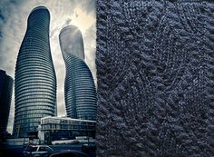 Swatches by devon dagworthy: Soft Architecture. Here are some swatches I knit up... http://dagworthy.tumblr.com/