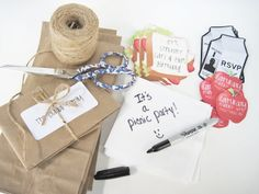 Picnic Theme Birthday Party Invitation. How cute is that?!!