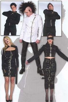 Institutionalized Bondage 2003 Black long skirt + dress