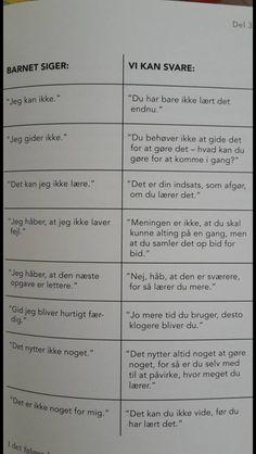 Ting man kan svare til barnet. Danish Language, Wierd Facts, Cooperative Learning, Coaching, Working With Children, School Hacks, Primary School, Social Skills, Toddler Activities