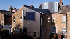Zero Carbon Loft, W7 2EB. Designed by Green Structures, 2010.