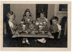 Great vintage photo...Halloween Party