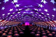 projection in Party Tent - Buscar con Google