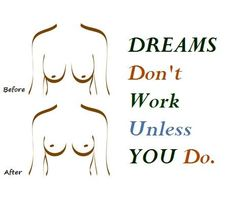 DREAMS Don't Work Unless You do - How to Lift your Saggy Breast Naturally, Try it and See the Amazing Results in few days.