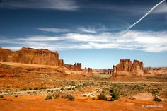 Courthouse Towers, Arches National Park, UT, USA