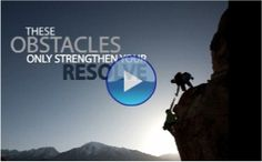 """""""Overcoming Adversity""""    (click through to watch)"""
