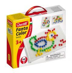 #Quercetti #toys | Chiodini Fantacolor Basic