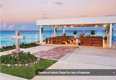 Cancun Catholic chapel