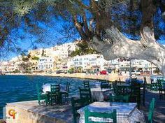 Naxos, can't you just feel this spot with some raki, fish and a siesta afterwards?