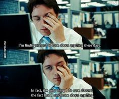 How my life feels right now, described by James McAvoy