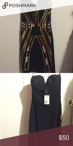 H&M dress XS , never worn, new. H&M Dresses Strapless