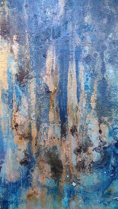Original Abstract Painting 11 x 14 Framed Modern Mininalist