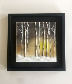 Fused glass, handmade fused glass, fused glass wall panel, Fused Glass art, fused glass wall art, glass trees, home decor, glass wall art by jwcalgary on Etsy
