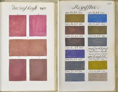 271 Years Before Pantone, One Man Painted Every Color Imaginable In An 800-Page Book | Bored Panda