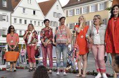 Eine Wahl ohne Verliererinnen. Die 7 ebenfalls topgestylten 2. Platzierten dürfen sich über ihre neuen #Outfits freuen. #Reutlingen #Ladies #Day #Shopping #Lady #Rot #Kandidatinnen #Mode #Fashion #Style #2015 #Event