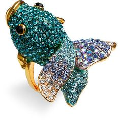 I love fish! I have a necklace that would match this perfectly!