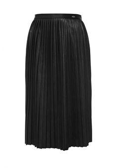 Юбка Gaudi  Юбка Gaudi. Цвет: черный.  Сезон: Осень-зима 2016/2017. Одежда, обувь и аксессуары/Женская одежда/Одежда/Юбки
