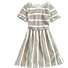 Madewell MADEWELL Stucco Stripe Songbird Dress