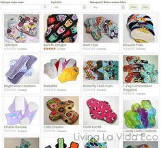 Cloth Pad Reviews Page on Living La Vida Eco | Living La Vida Eco