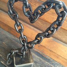 Metal heart sculpture - Yelp