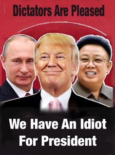 Traitor Trump is Putin's little bitch. Brainwashed fools can't see this because they have their shrivled heads shoved up their asses. Gucci Logo, Our President, Republican Party, That Way, In This World, Just In Case, Donald Trump, Presidents, Sayings