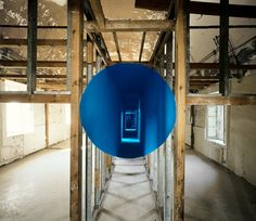 New Anamorphoses by Georges Rousse