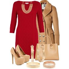 "Woman's fashion ""Red Dress"""